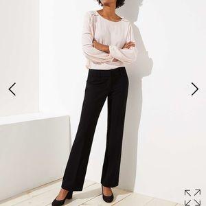 LOFT - Marisa Fit Black Trouser - NWOT - Size 2